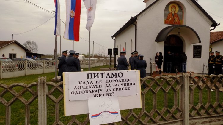 Parastos i duhovna akademija povodom stradanja Srba mjesta Sijekovac u Brodu
